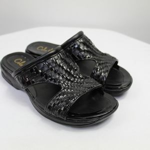 Cole Haan Nike air woven slide sandals 7.5